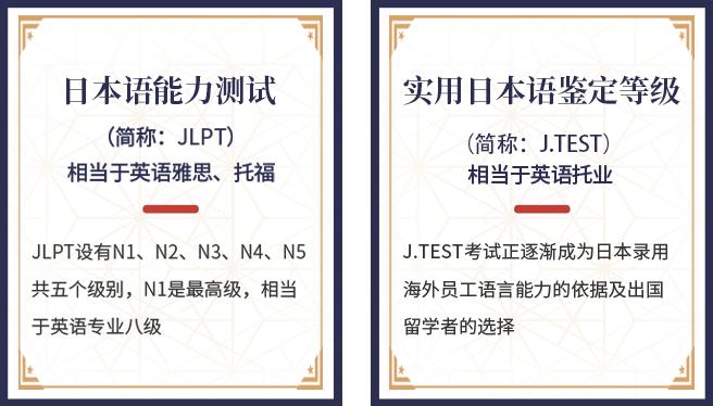 全球认可的权威日语等级考试
